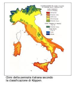 Climi in italia